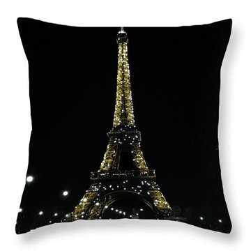 Eiffel Tower - Paris Throw Pillow