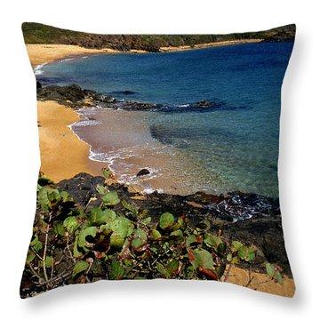 El Convento Beach Throw Pillow by Thomas R Fletcher