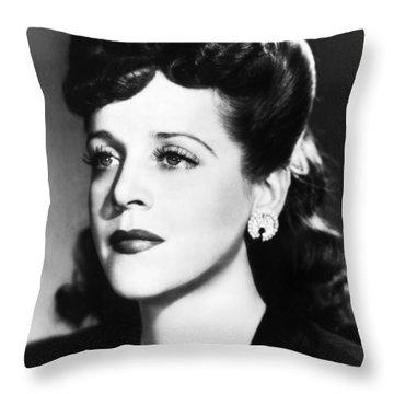 Eleanor Steber (1916-1990) Throw Pillow by Granger