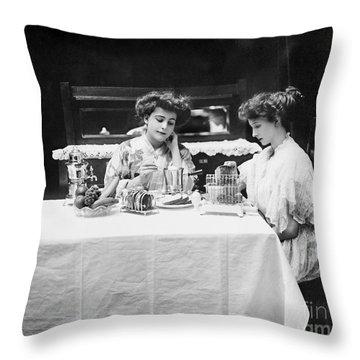 Electric Cookware, 1908 Throw Pillow