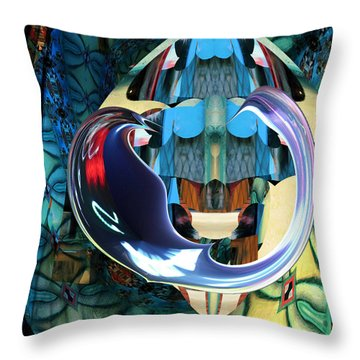 Elements Of Freedom Throw Pillow