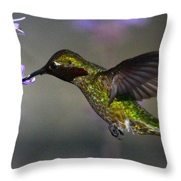 Emerald Beauty Throw Pillow