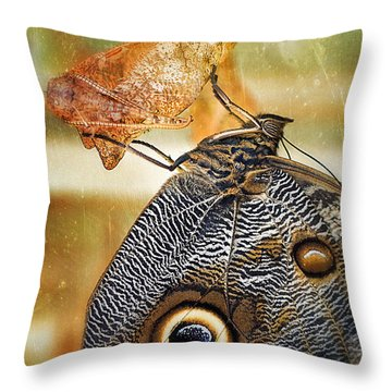 Emergent Culture Throw Pillow by Skip Hunt