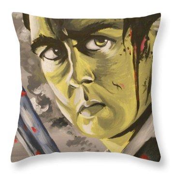Emily's Neville Throw Pillow by Lisa Leeman