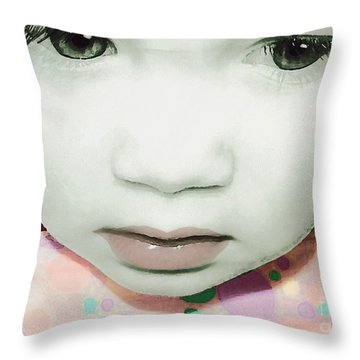 Emo Pop Baby Throw Pillow