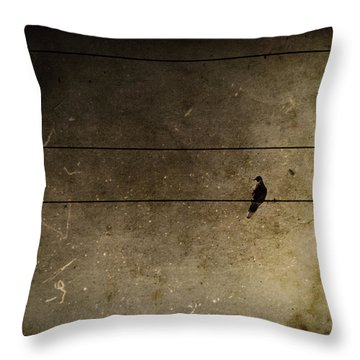 Emotional Distance Throw Pillow by Andrew Paranavitana