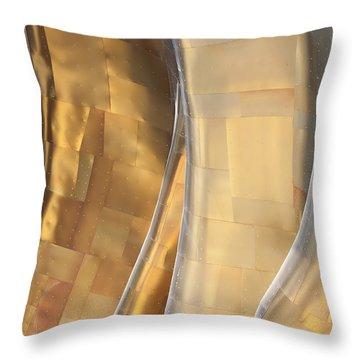 Emp Fools Gold Throw Pillow by Chris Dutton