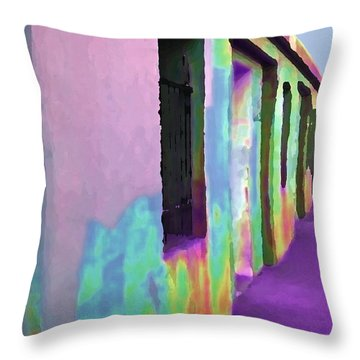 Empty Quarters Throw Pillow