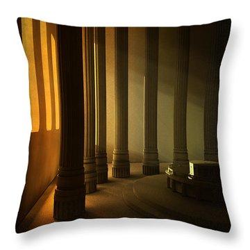 Empty Room Throw Pillow by Svetlana Sewell