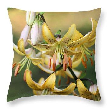 Enchanted Throw Pillow by Katherine White