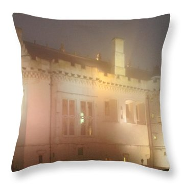 Enchanted Stirling Castle Scotland  Throw Pillow by Christine Till