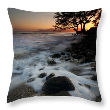 Encompassed Throw Pillow by Mike  Dawson