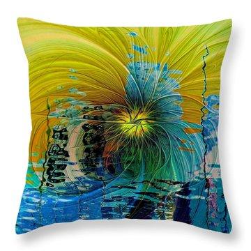 End Of Days Throw Pillow by Amanda Moore