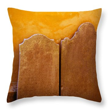 Throw Pillow featuring the photograph End Of The Road by Jean Haynes