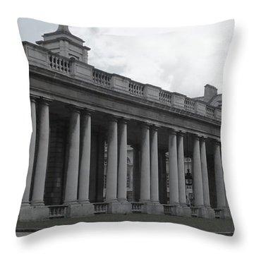 Endless Columns Throw Pillow by Anna Villarreal Garbis