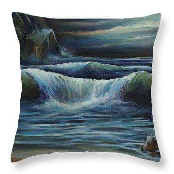 'endless' Throw Pillow by Michael Lang