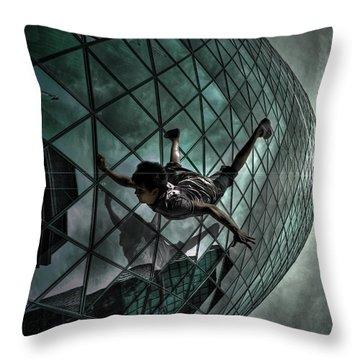 Endless Waltz Throw Pillow by Yhun Suarez