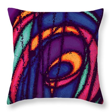 Energy Out Throw Pillow