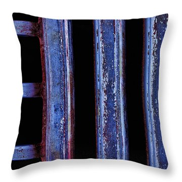 Engine Grill Throw Pillow