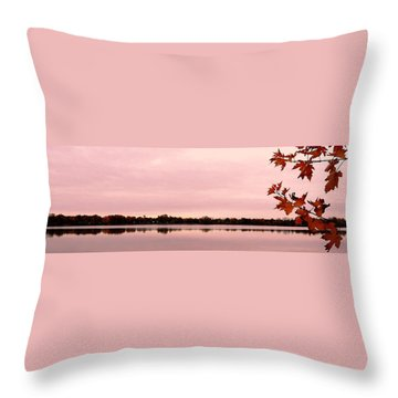 Enjoy Fall ... Throw Pillow by Juergen Weiss