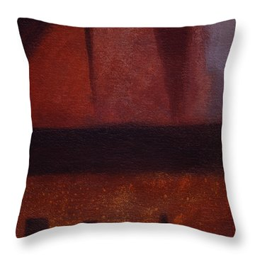 Entering The Vision Throw Pillow