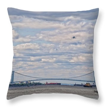 Enterprise 3 Throw Pillow by S Paul Sahm