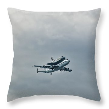 Enterprise 4 Throw Pillow by S Paul Sahm