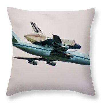 Enterprise 6 Throw Pillow by S Paul Sahm