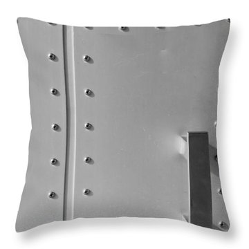Entrance Secured Throw Pillow