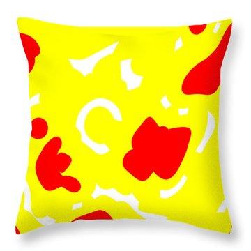 Throw Pillow featuring the digital art Enxir by Jeff Iverson