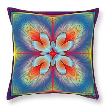 Ephemeral 1 Throw Pillow by Walter Oliver Neal