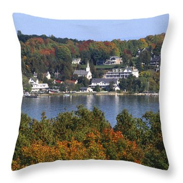 Ephraim And Eagle Harbor Throw Pillow
