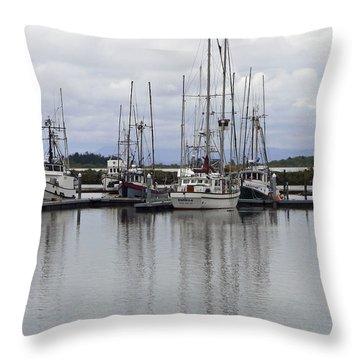 Eponym Throw Pillow by Pamela Patch