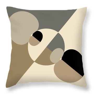 Equilibrium Throw Pillow by Mark Greenberg