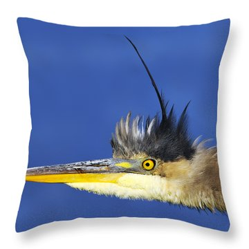 Erect Throw Pillow by Tony Beck