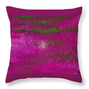 Throw Pillow featuring the digital art Erexon by Jeff Iverson