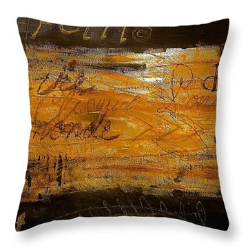 Eric Maskin On Sovereign Man Throw Pillow by Contemporary Luxury Fine Art