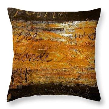 Eric Maskin On Sovereign Man Throw Pillow