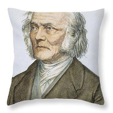 Ernst Heinrich Weber Throw Pillow by Granger