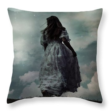 Escape Throw Pillow by Joana Kruse