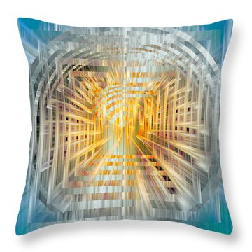 Escrow Vault Throw Pillow