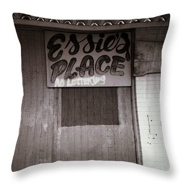 Essie's Place Throw Pillow