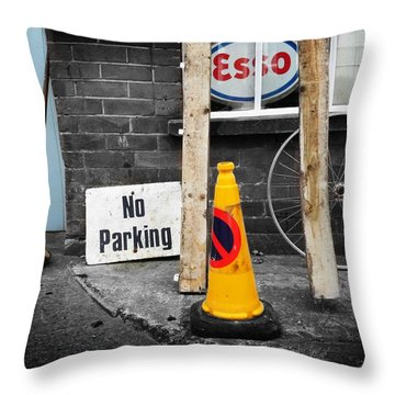 Esso Throw Pillow by Charles Stuart