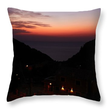 Estellencs View Throw Pillow