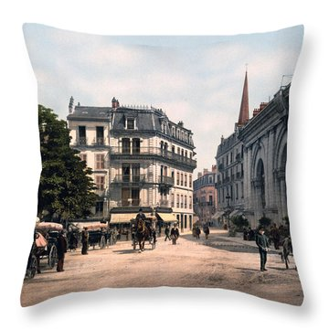 Etablissement Thermal - Aix France Throw Pillow by International  Images