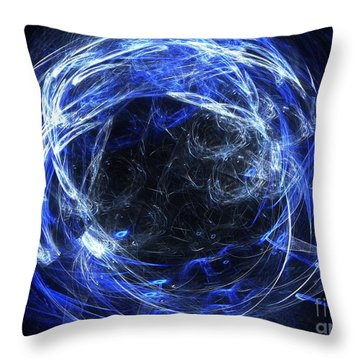 Throw Pillow featuring the digital art Eternal by Kim Sy Ok
