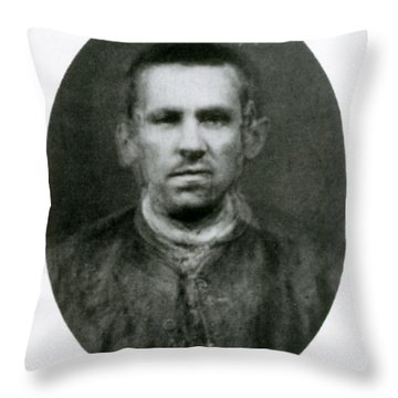 Eugenics, Criminal Composite Throw Pillow by Science Source