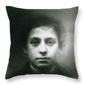Eugenics, Jewish Composite Throw Pillow by Science Source