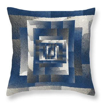 Even On A Cloudy Day Throw Pillow by Tim Allen