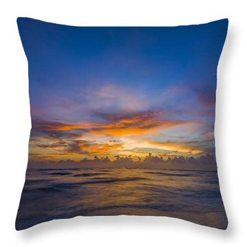 Evening Colors Throw Pillow